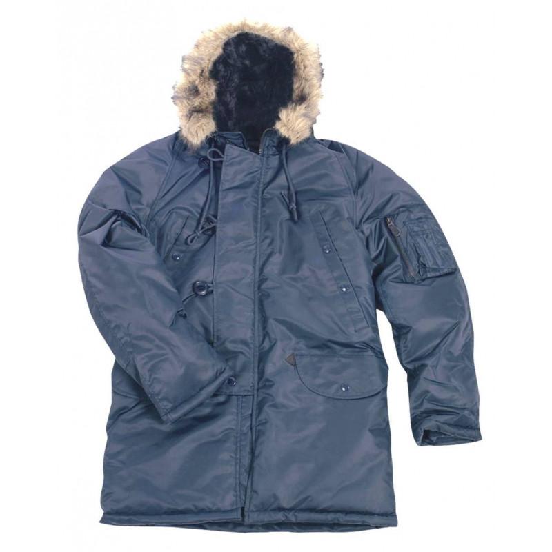 M-Tramp N3B jakna | plava