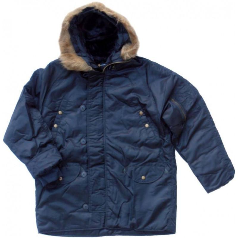 Westrooper N3B jakna | plava