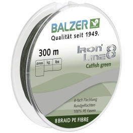 Balzer Iron Line 8 Catfish green upredenica | 300m