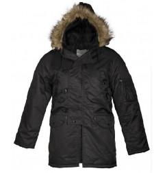 Mil-tec US N3B jakna | crna