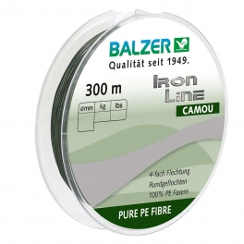 Balzer Iron Line x4 upredenica camou | 3 debljine