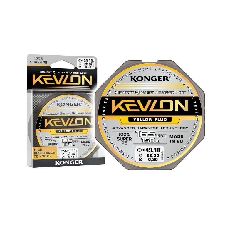 Konger Kevlon X4 Yellow Fluo upredenica | 150m