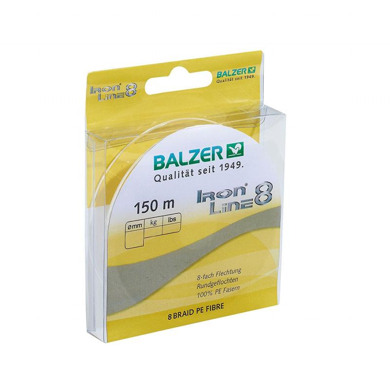 Balzer Iron Line 8 Spin Yellow upredenica | 150m