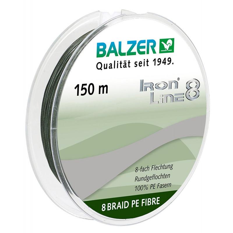 Balzer Iron Line 8 Spin Green upredenica | 150m