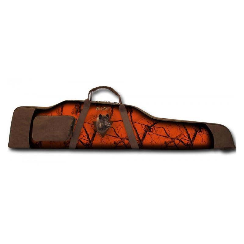 WildZone Torba za pušku 128x30x7cm | vepar orange