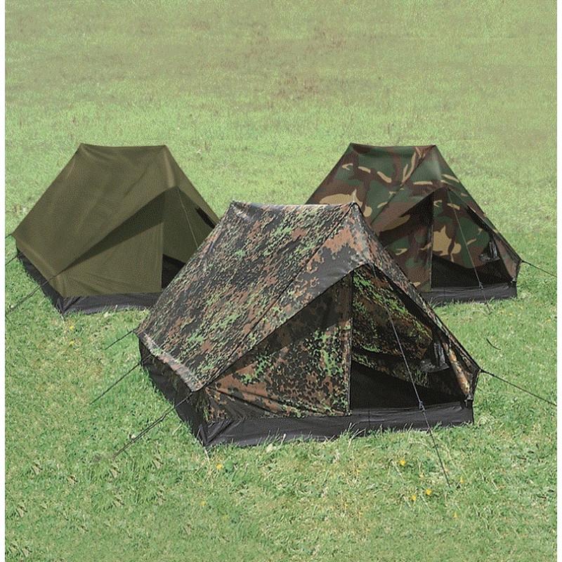 "Mil-tec ""Mini Pack Super"" woodland šator | 2 osobe"