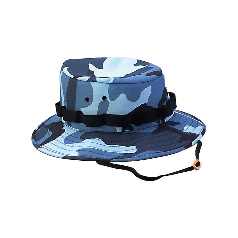 M-Tramp Boonie šešir XL | blue camo