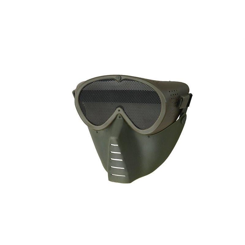 Ultimate Tactical Ventus Eco maska za lice | olive
