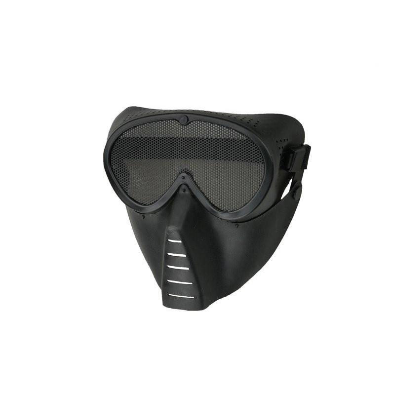 Ultimate Tactical Ventus Eco maska za lice | black