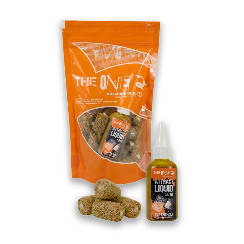 The One PVA BOMB 30 komada + BOILIE Juice 50ml