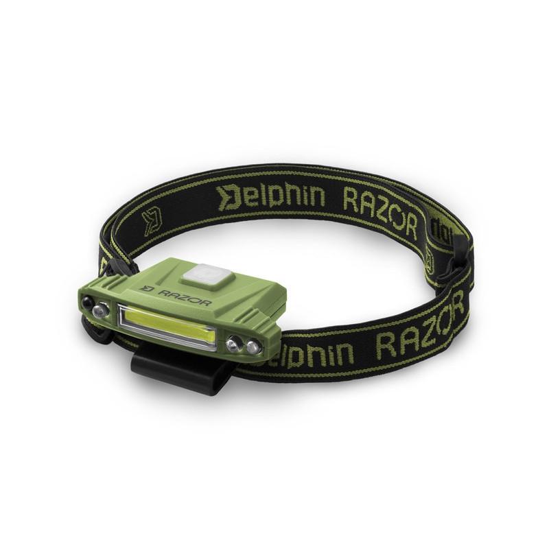 Delphin RAZOR LED naglavna lampa   USB punjiva