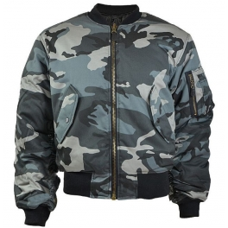Mil-tec US MA1 T/C Dark Camo jakna
