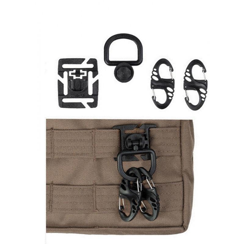 Mil-tec Black Ultimate Tactical set | black