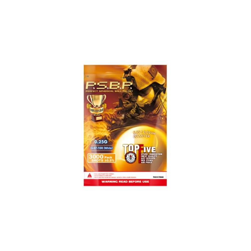 G&G P.S.B.P. airsoft kuglice 0.25g | 3000 komada