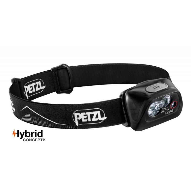 Petzl ACTIK® CORE naglavna lampa   crna   450lm