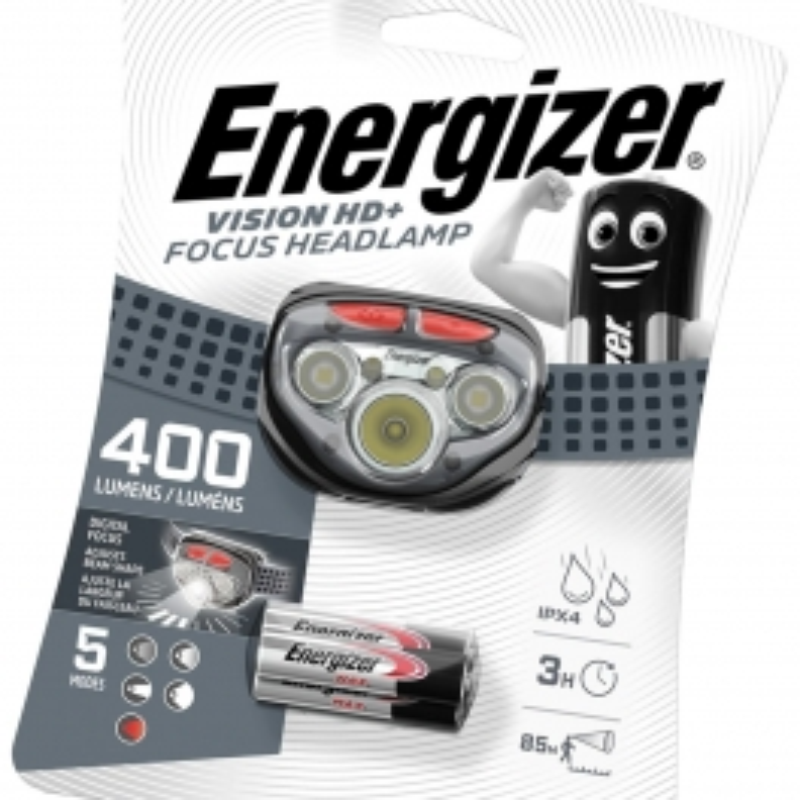 Energizer Vision HD+  Focus naglavna lampa   400lm