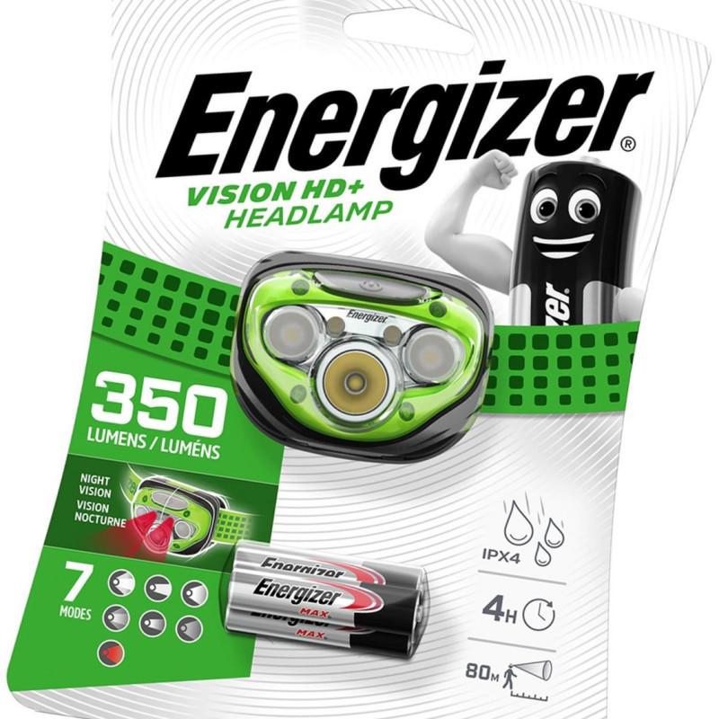 Energizer Vision HD+ naglavna lampa   350lm