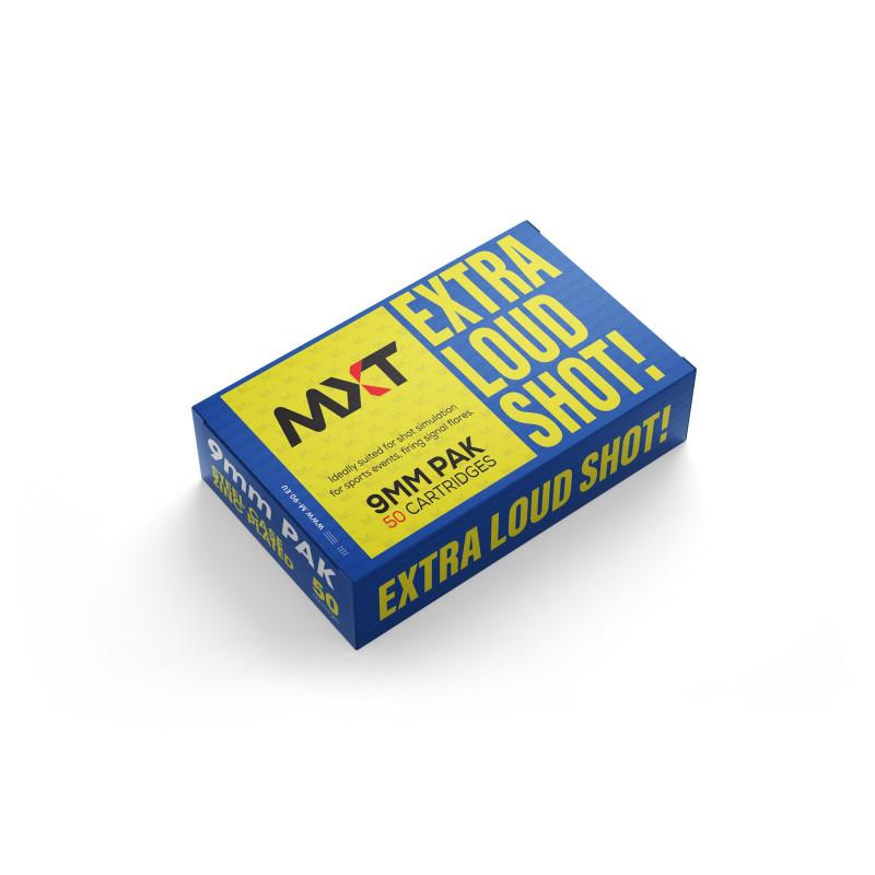 M-90 MXT Extra Loud Zinc case plinsko streljivo | 9mm P.A.K.
