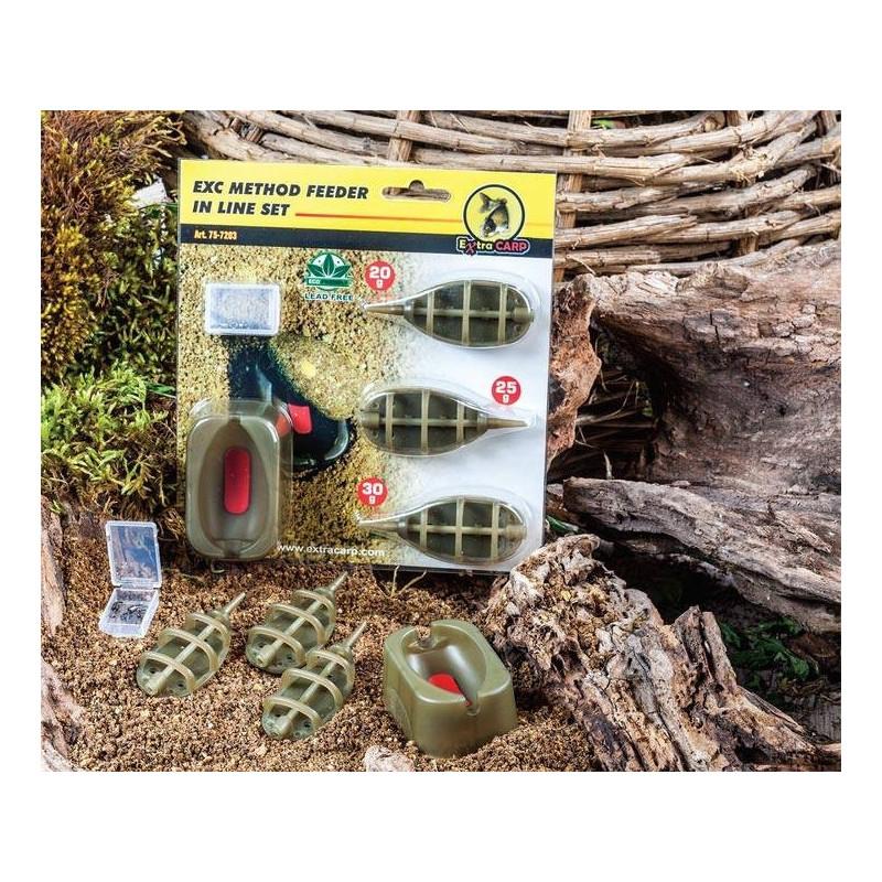 Extra Carp feeder set hranilica | 3+1