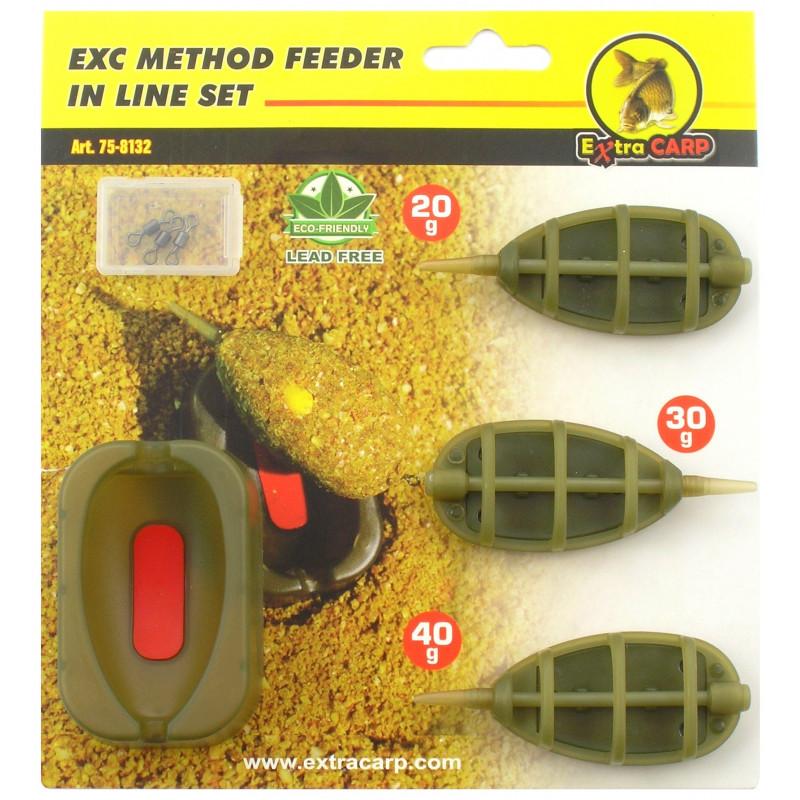 ExtraCarp EXC Method Feeder In line hranilica | set
