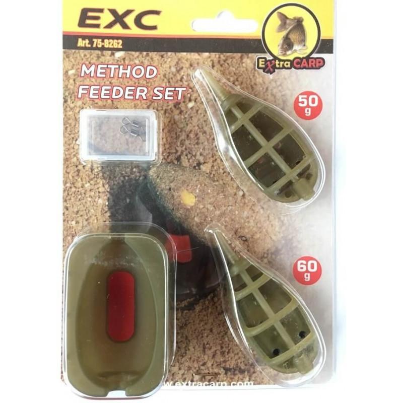 ExtraCarp EXC Method Feeder In line hranilica | set 2+1