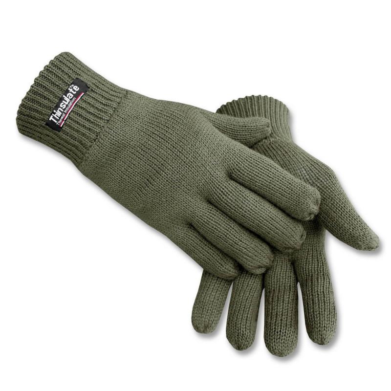 Mil-tec Thinsulate rukavice | zelene