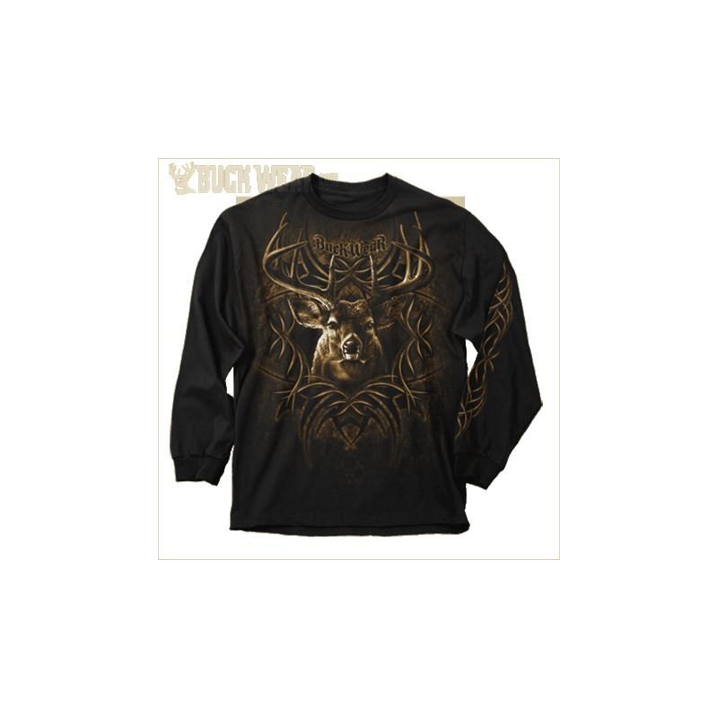 Buck Wear - Majica s lovačkim motivom na prsima - 0201