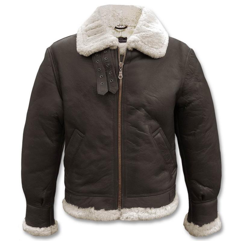 Mil-tec US Bomber B3 kožna jakna