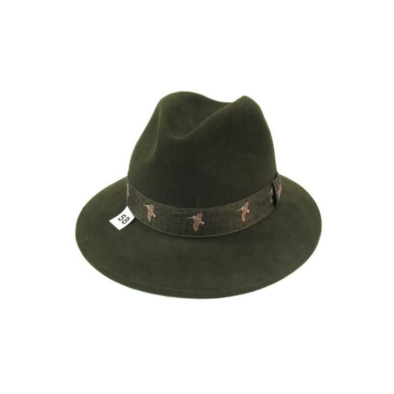 Lovački šešir sa motivom patke (dlaka)