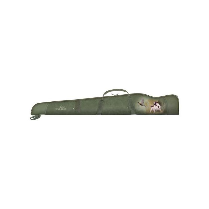 WildZone Torba za pušku 129x20x3cm | motiv fazana i psa