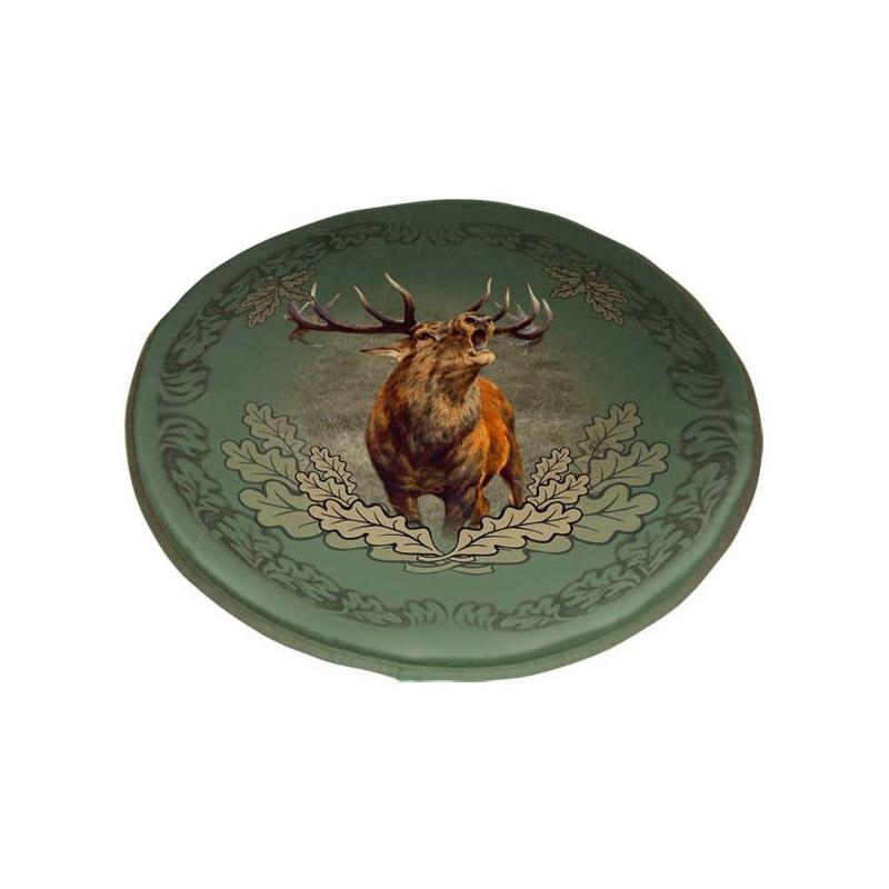 WildZone Sjedalica okrugla 41x41cm | motiv jelena
