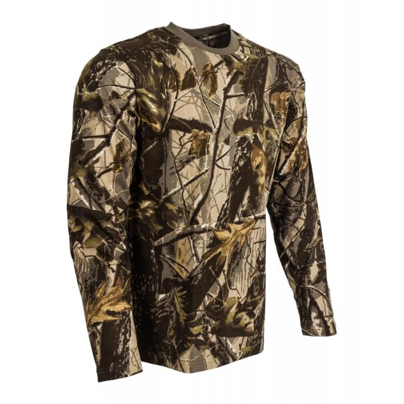 Majica dugi rukav Hardwood Brown