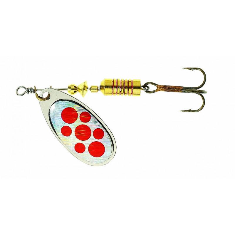 Balzer Spiner Original Colonel Z varalica | silver - red spots
