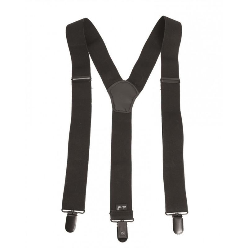 Mil-tec Tregeri za hlače sa žabicama | crni