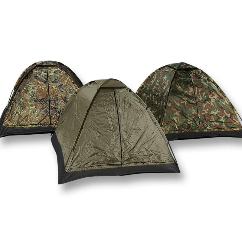 Mil-tec Iglu šator za 3 osobe | maskirni