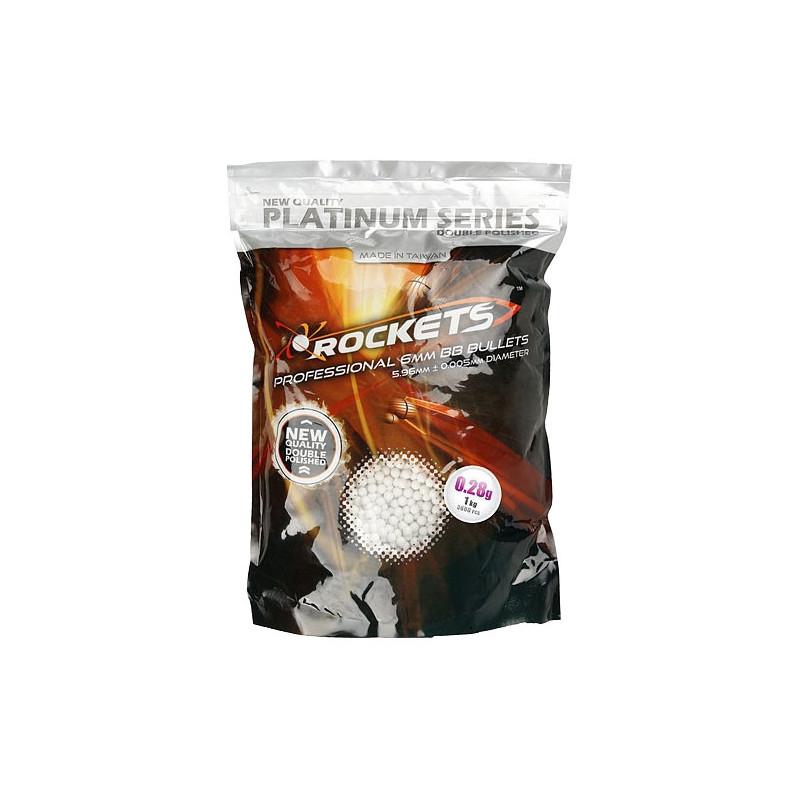 Rockets Platinum Airsoft kuglice 1kg   0.28g