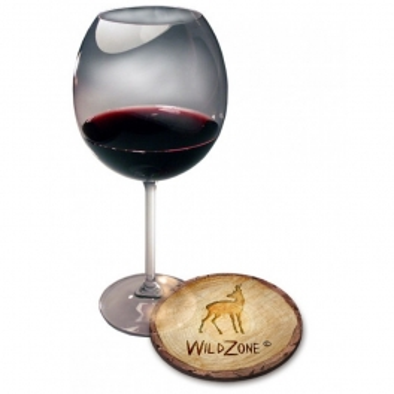 Wildzone Podmetači za čaše 10x10cm | motiv Wood srnjak