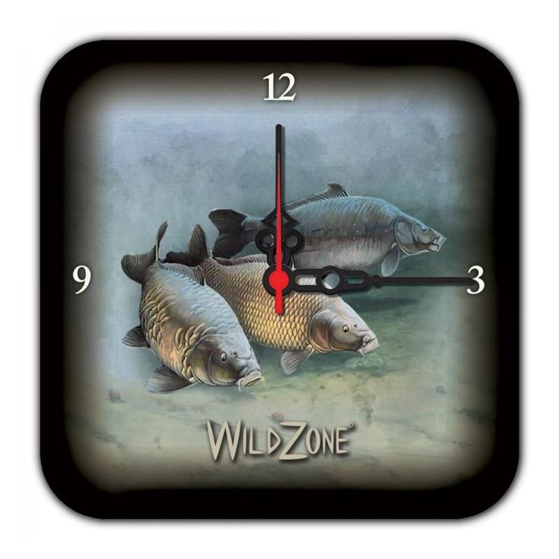 Wildzone Zidni sat s ribolovnim motivima | 18x18cm