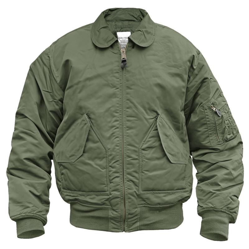 "Mil-tec ""US CWU Fly"" jakna | zelena"