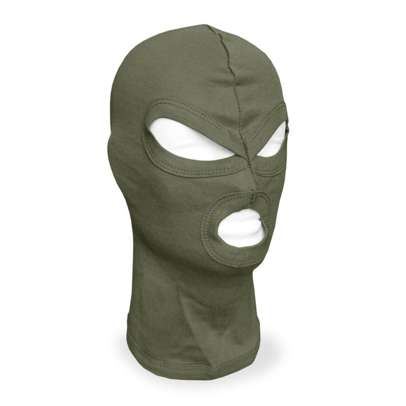 Mil-tec Co maska / fantomka 3 otvora kapa | zelena