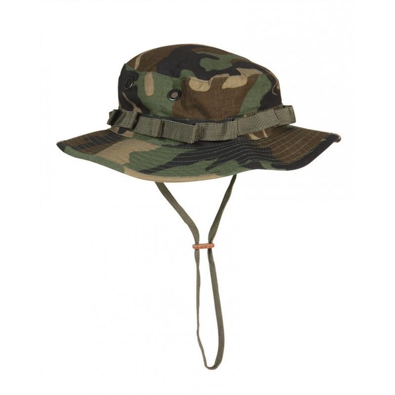 Mil-tec Boonie Rip-stop šeširić | woodland