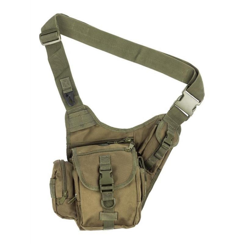 M-Tramp B12 torbica na rame | zelena