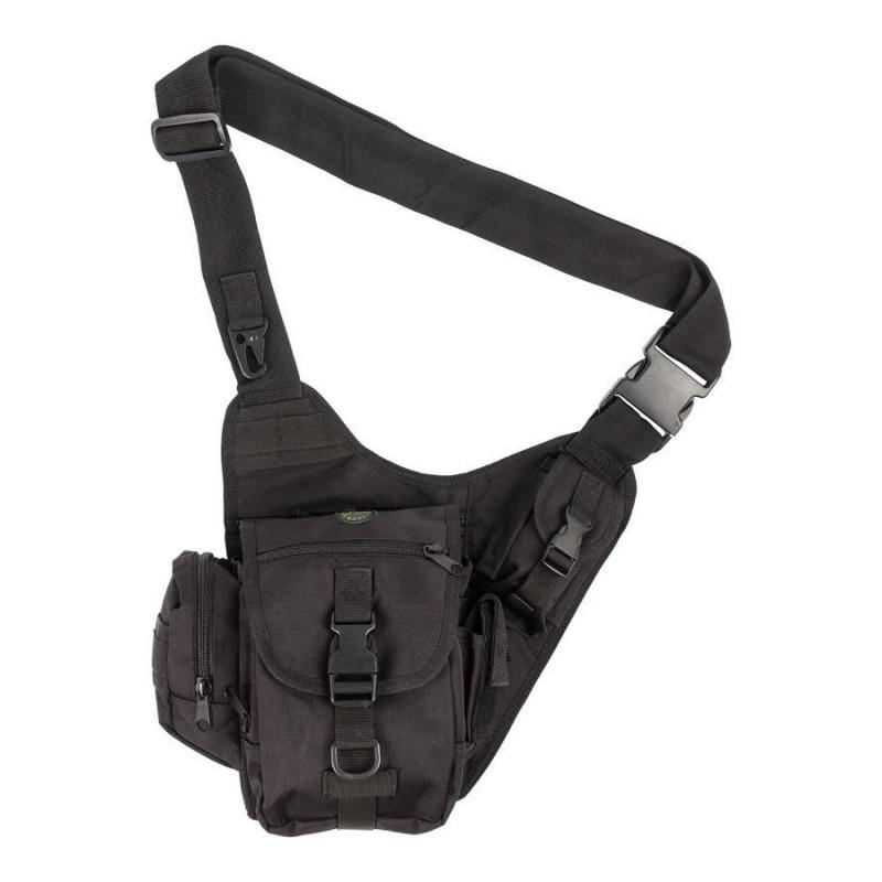 M-Tramp B12 torbica na rame | crna