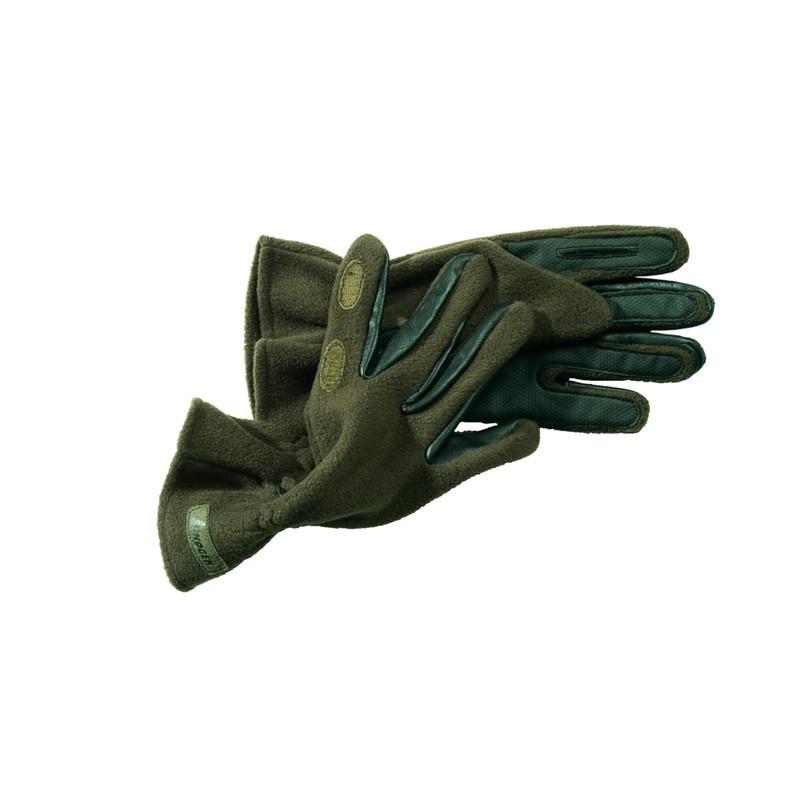 Skogen Fleece rukavice | zelene