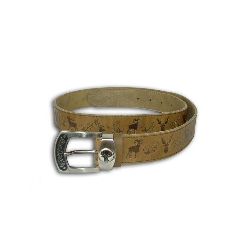 Acorn Kožni lovački remen za hlače | 4/130cm