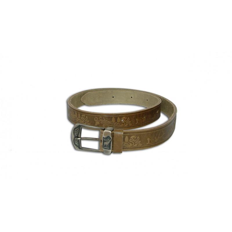Acorn Kožni lovački remen za hlače | 3/130cm