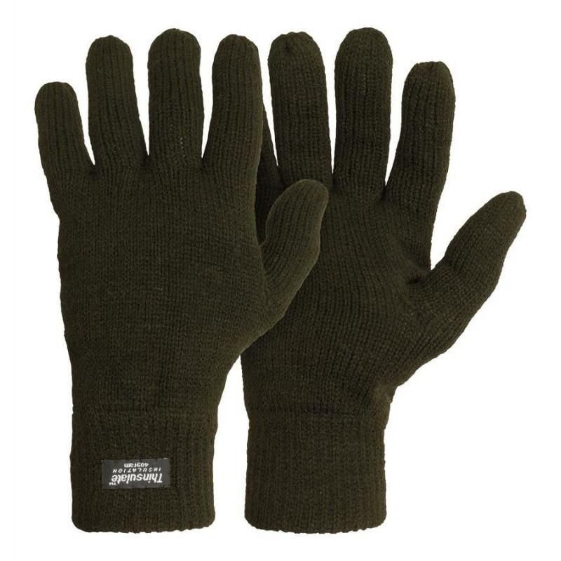M-Tramp Thinsulate rukavice | zelene