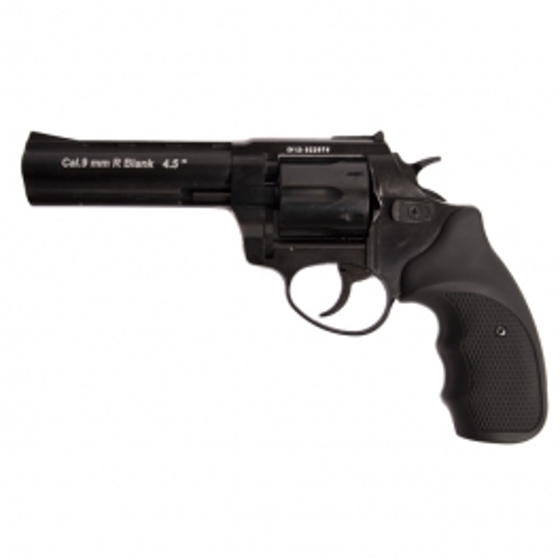 """Zoraki plinski revolver R1 - 4,5"""" Black"""