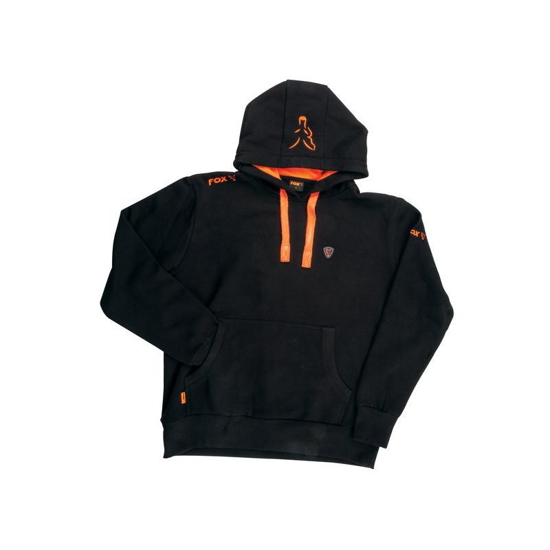 Fox Black / Orange Hoody majica