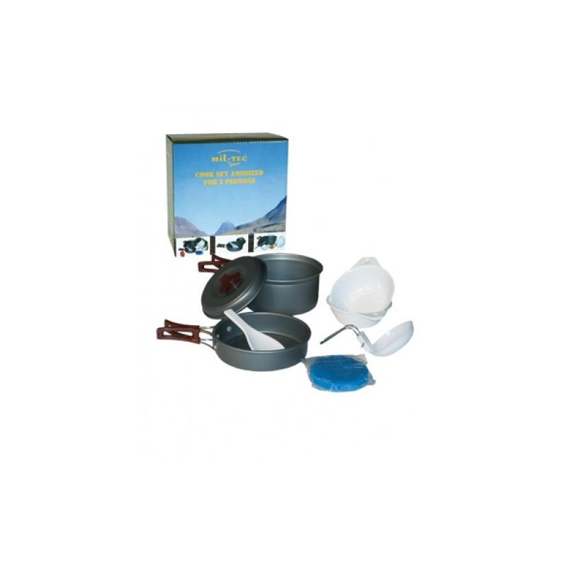 Mil-tec Aluminijske posude za kuhanje (set)